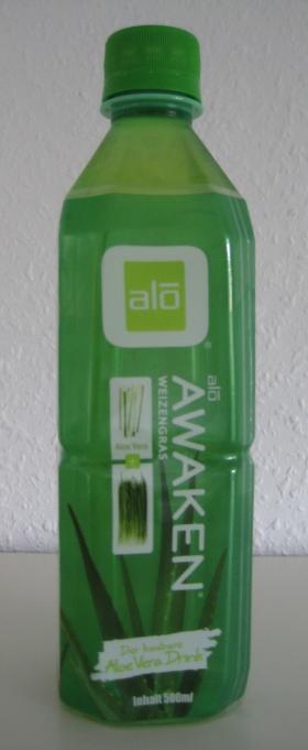 alo Awaken Weizengras - Der kaubare Aloe Vera Drink