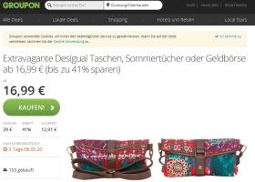 Desigual Taschen-Deal Clutch