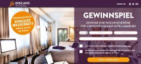 discavo Gewinnspiel Hamburg-Reise
