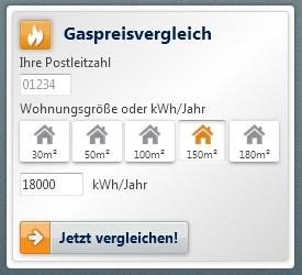Gaspreisvergleich Verivox