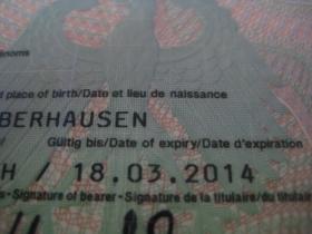 Abgelaufener Personalausweis