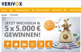 Verivox Gewinnspiel Januar 2015