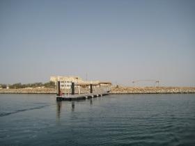 Hafen - Bootssteeg Hawar Island