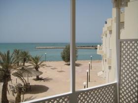 Hawar Island Hotelzimmer mit Meerblick