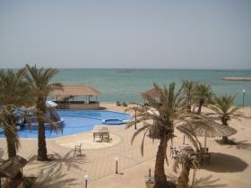 Pool und Meerblick Hawar Island