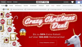 Crazy Christmas Deal ABOUT YOU